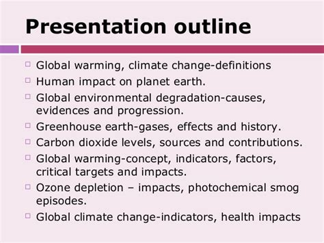 Global Warming Debate Essay by Essay Outline Global Warming