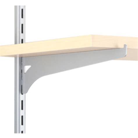 10 quot platinum single track wood shelf bracket at menards 174