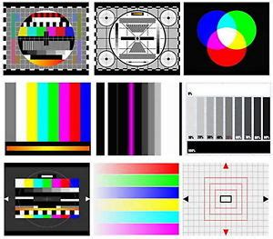 pattern generator in tv tv test card video pattern generator test tones dvd