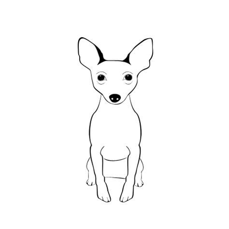 rat terrier coloring page rat terrier custom shape by darkselfie on deviantart