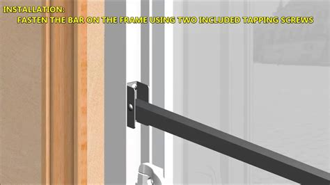 Sliding Patio Door Security Bar Rate Security Lock For Sliding Glass Door Security Bar For Sliding Glass Door With Lock