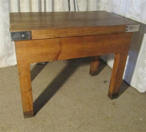 kitchen chopping block table butchers table chopping block kitchen island antiques atlas
