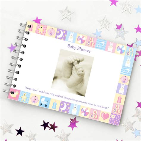 Baby Shower Guest by Baby Shower Guest Book By Amanda Hancocks