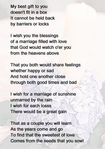 Wedding Shower Poems by Bridal Shower Poems