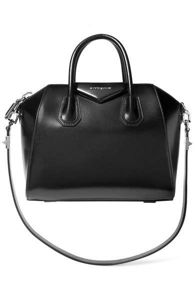 Givenchy Antigona Min 3154 givenchy mini antigona bag in black leather net a porter