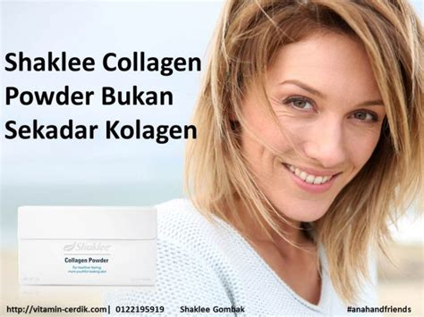 Pasaran Collagen shaklee collagen powder drink terbaik di pasaran vitamin
