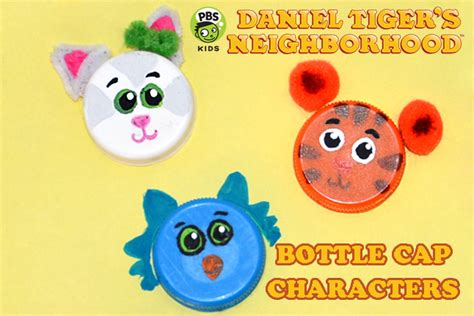pbs crafts for daniel tiger characters quotes