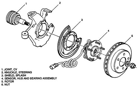 1979 pontiac trans am 6 6l 4bl ohv 8cyl repair guides anti lock brake systems front wheel