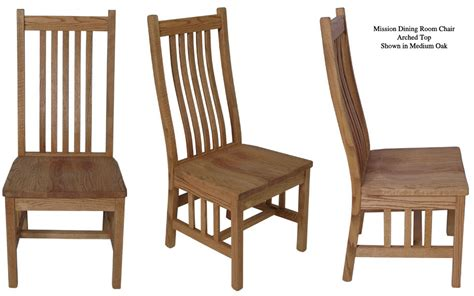 mission dining room chairs oak mission dining room chair with arms