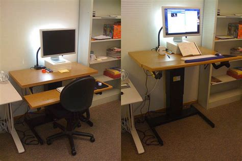 Office Workers It S Time To Beat The Bulge And Quit The Sit Standing Desk At Work