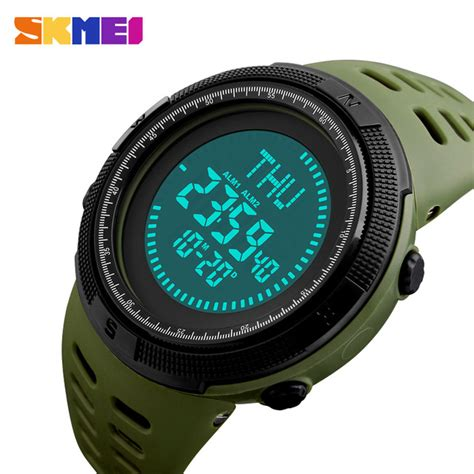 Skmei Jam Tangan Kompas Digital Pria 1300 skmei jam tangan kompas digital pria 1254 green jakartanotebook