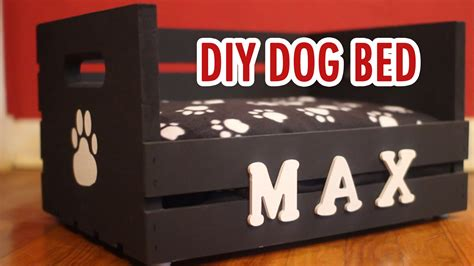 diy dog r for bed diy dog bed for small dogs hgtv handmade youtube