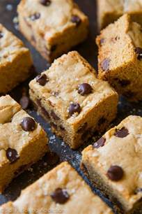 Top 5 Chocolate Bars Soft Amp Chewy Chocolate Chip Cookie Bars Sallys Baking