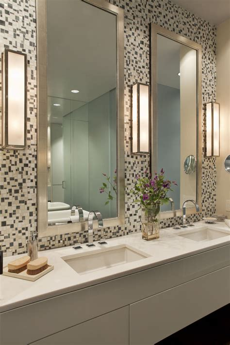 Next Bathroom Mirrors Magnificent Minka Lavery Lighting In Bathroom Contemporary With Master Bath Mirrors Next To