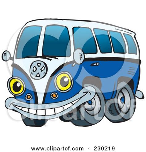 volkswagen van with surfboard clipart royalty free rf clipart illustration of a black and