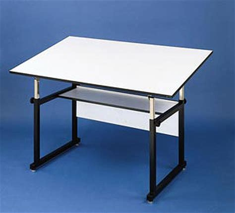Alvin Workmaster Drafting Table Alvin Workmaster Professional Drafting Table Black Base 37 5 X 72 Top