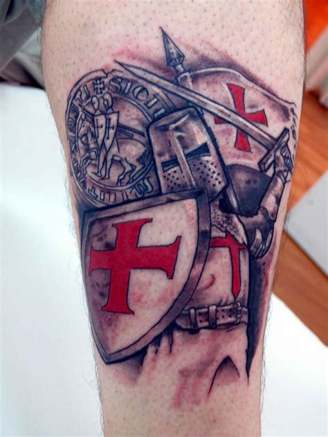 knights templar cross tattoos designs heaven light templar knights tattoos