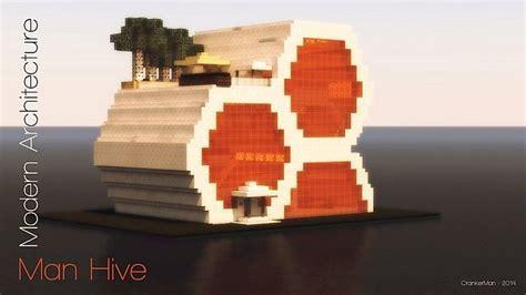 Man Hive   Modern Architecture Minecraft Project