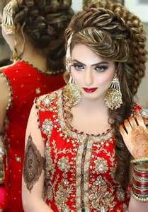 pakistan hair style pakistani fashion bridal hairstyle trend 2016 for long