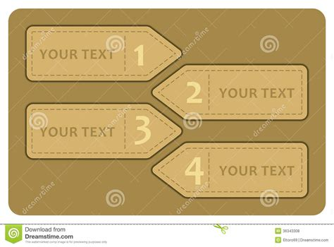 Vintage Label Template Royalty Free Stock Photos Image 36343308 Number Labels Template