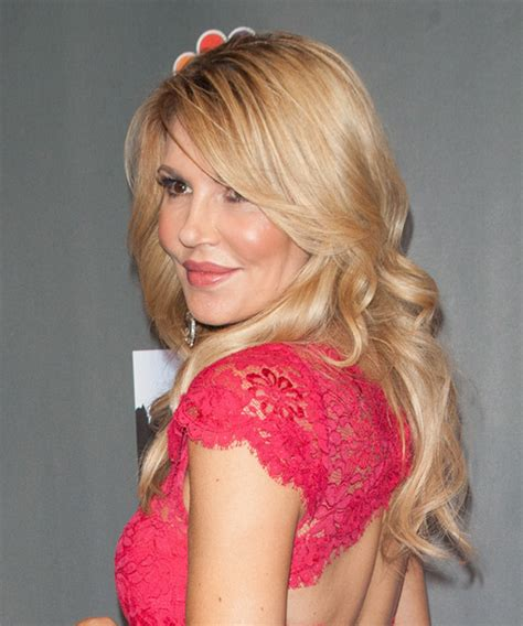 brandi glanville hair brandi glanville long wavy formal hairstyle medium