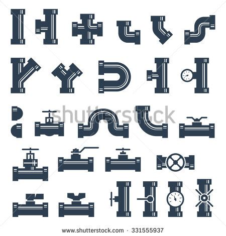 A List Plumbing by Pipe Fittings Stock Images Royalty Free Images Vectors