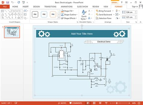 drawing wiring diagram in powerpoint 36 wiring diagram