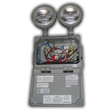 wet location emergency light siltron em15 series wet location emergency light