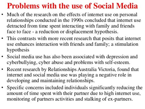 Essay On Impact Of Social Media On Todays Youth by Negative Effects Of Social Media On Relationships Essay Docoments Ojazlink