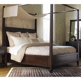 thomasville beds thomasville wanderlust canopy bed ensemble bedroom