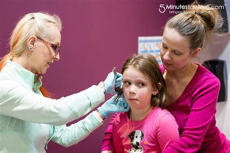 tattoo parlor ear piercing needle or gun where to get kids ears pierced
