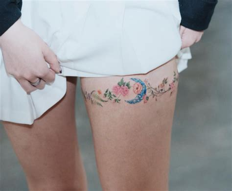 thigh band tattoo designs these 45 thigh tattoos for might just be the best