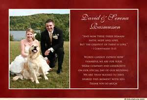 wedding thank you cards what to write on wedding thank you cards write wedding cards write