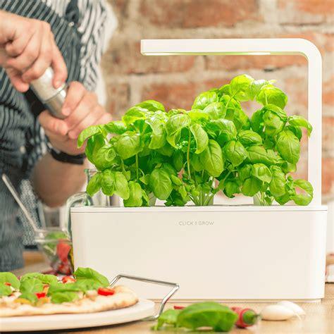 smart herb garden smart herb garden click grow