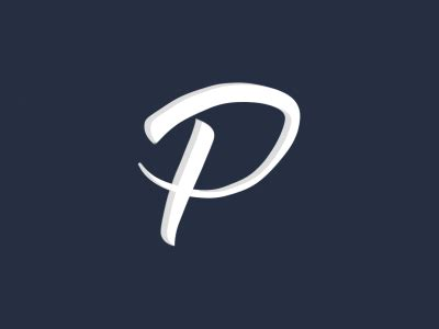 Animated P by Letter P By Hypevisuals Dribbble