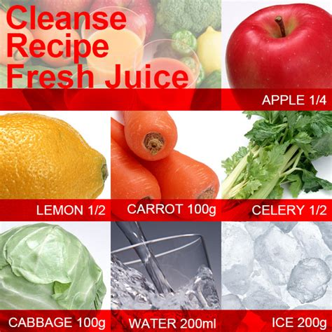 Fruit Vegetable Juice Recipes Detox by Cleanse Recipe To Get Slim Fast With Fresh Fruit Juice Slism