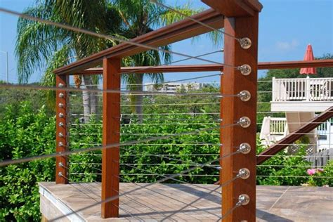 Wire Rope Handrail Systems diy cable railing system stainless cable railing