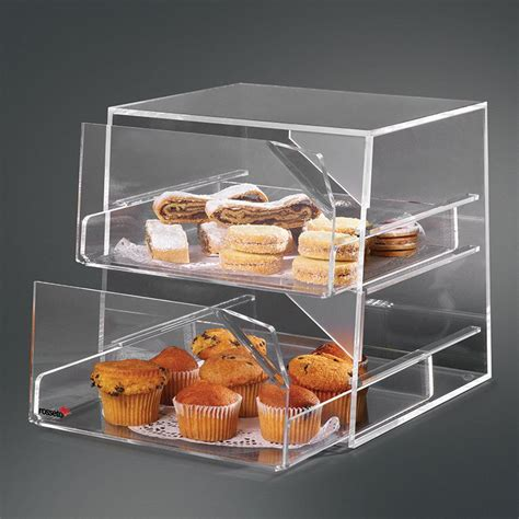 rosseto bak2231 2 drawer countertop bakery display