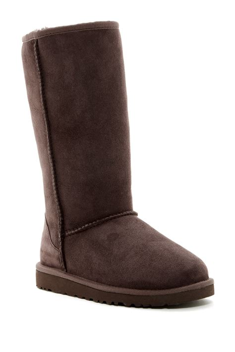 ugg kids classic tall little kidbig kid zapposcom ugg australia genuine sheepskin classic tall boot