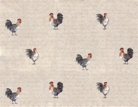 rooster wallpaper country kitchen country roosters wallpaper wk9034