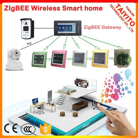 ce approved home automation taiyito zigbee domotique
