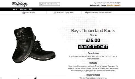 vintage clothing website distynct