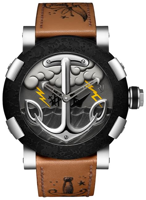 romain jerome tattoo dna watch ablogtowatch