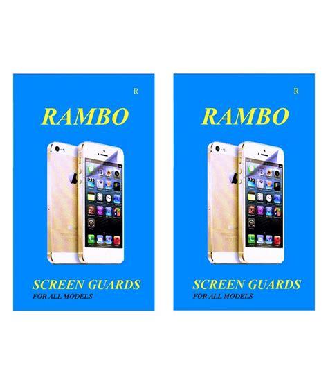 Clear Screen Guard Sony Xperia E4 E4 Dual rambo clear screen guard for sony xperia c mobile buy