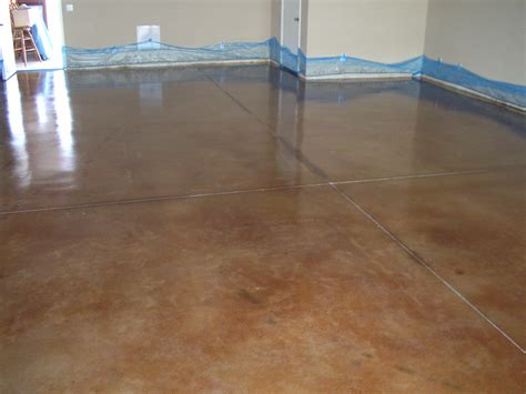 acid stained concrete floors countertops office 3