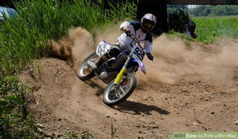 how to ride a motocross bike how to ride a dirt bike 2 steps with pictures wikihow