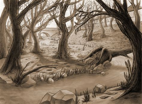 Drawing Backgrounds by Classical Animation Background By Dobbie At
