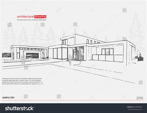 sketchup layout vector wireframe architecture drawing template interior design