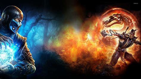 imagenes de scorpion vs sub zero sub zero vs scorpion in mortal kombat x wallpaper game