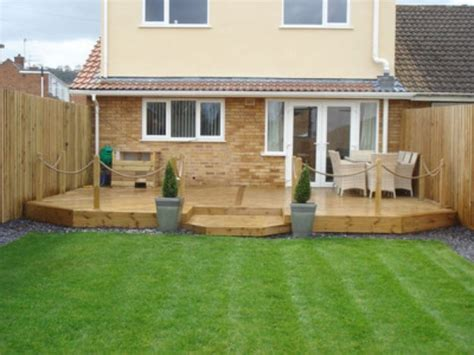 Garden Ideas With Decking Back Garden Decking Ideas New Interior Exterior Design Worldlpg